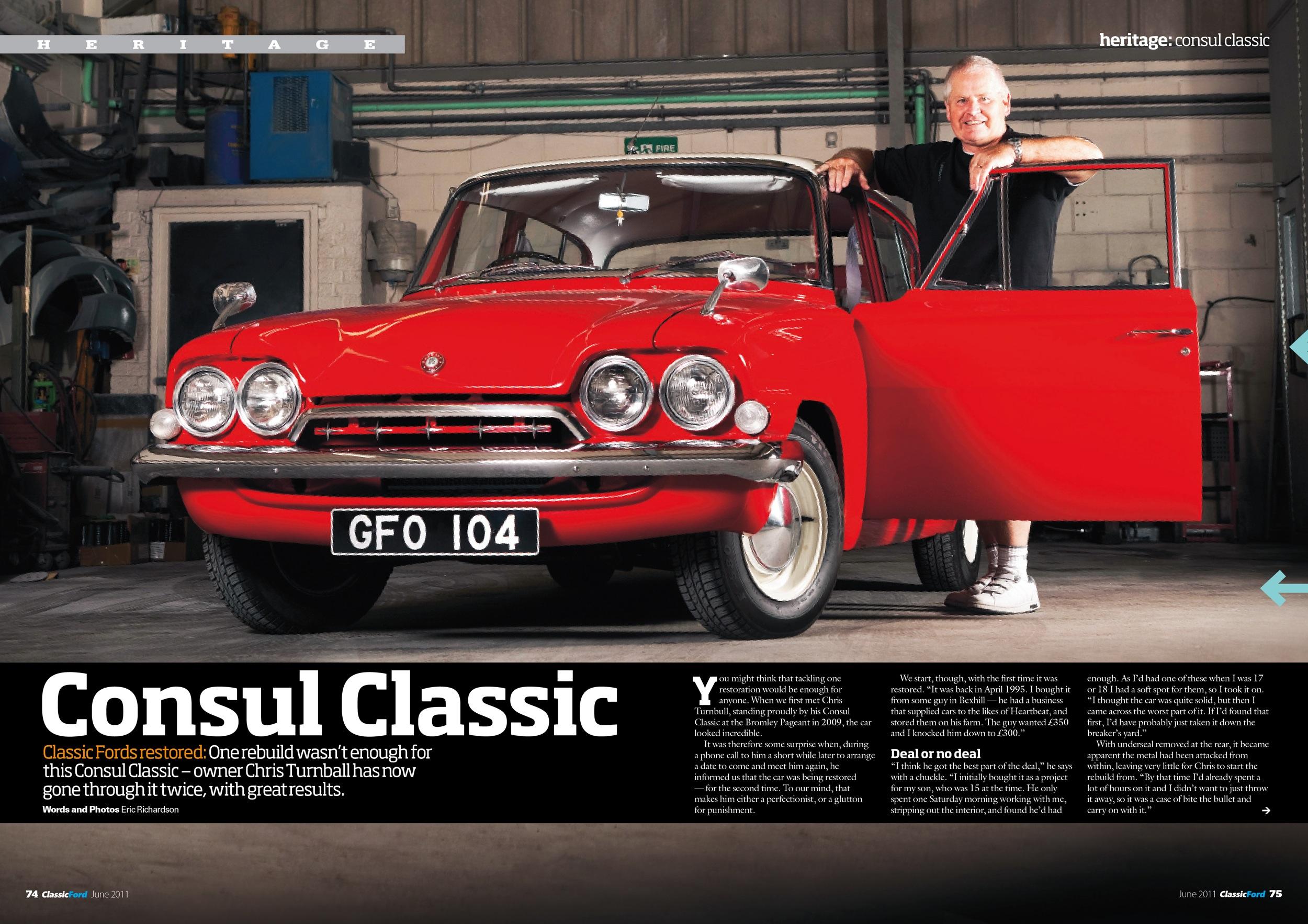 Classic Ford Consul Classic