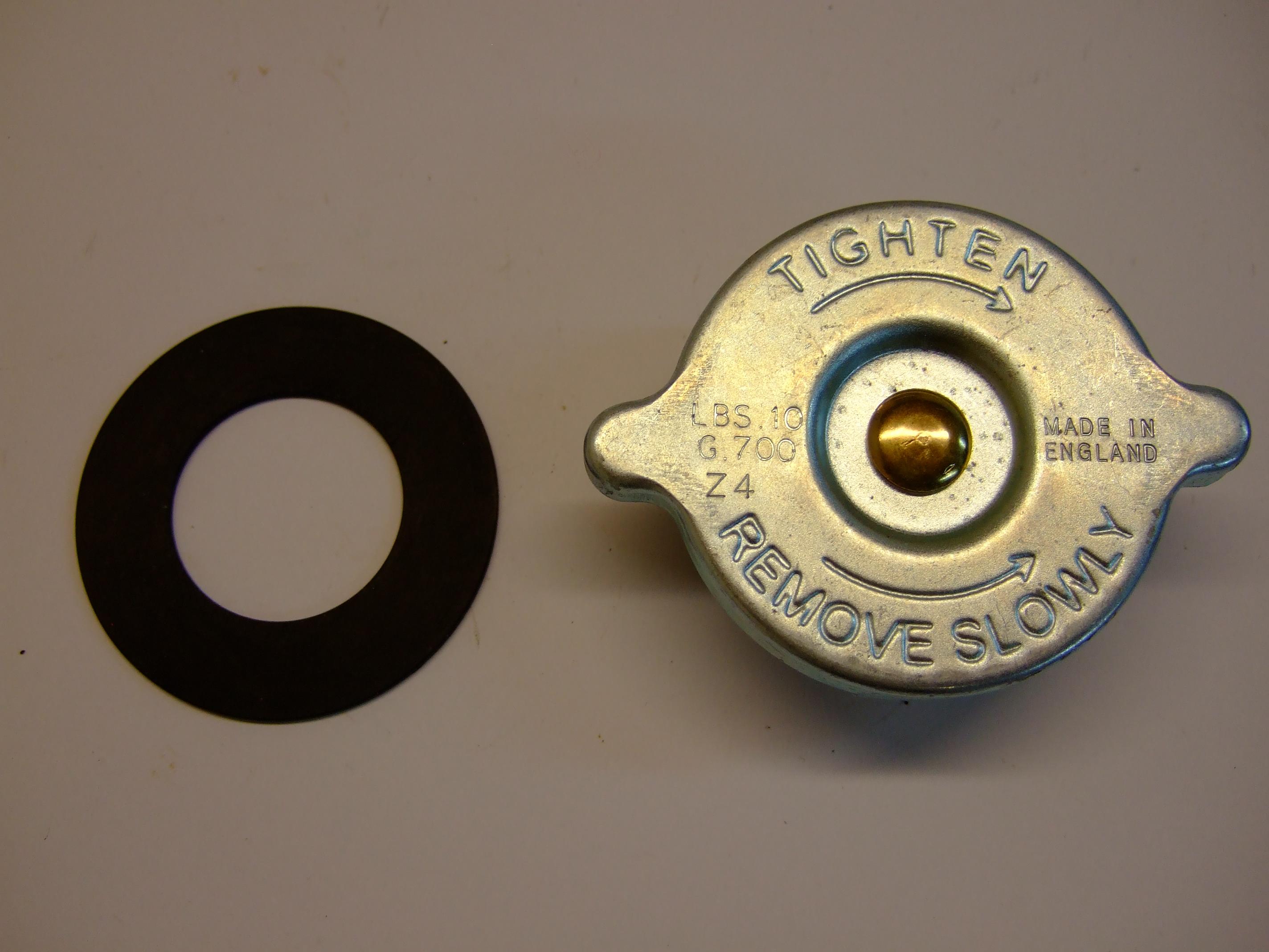 Radiator Cap – 10lb short