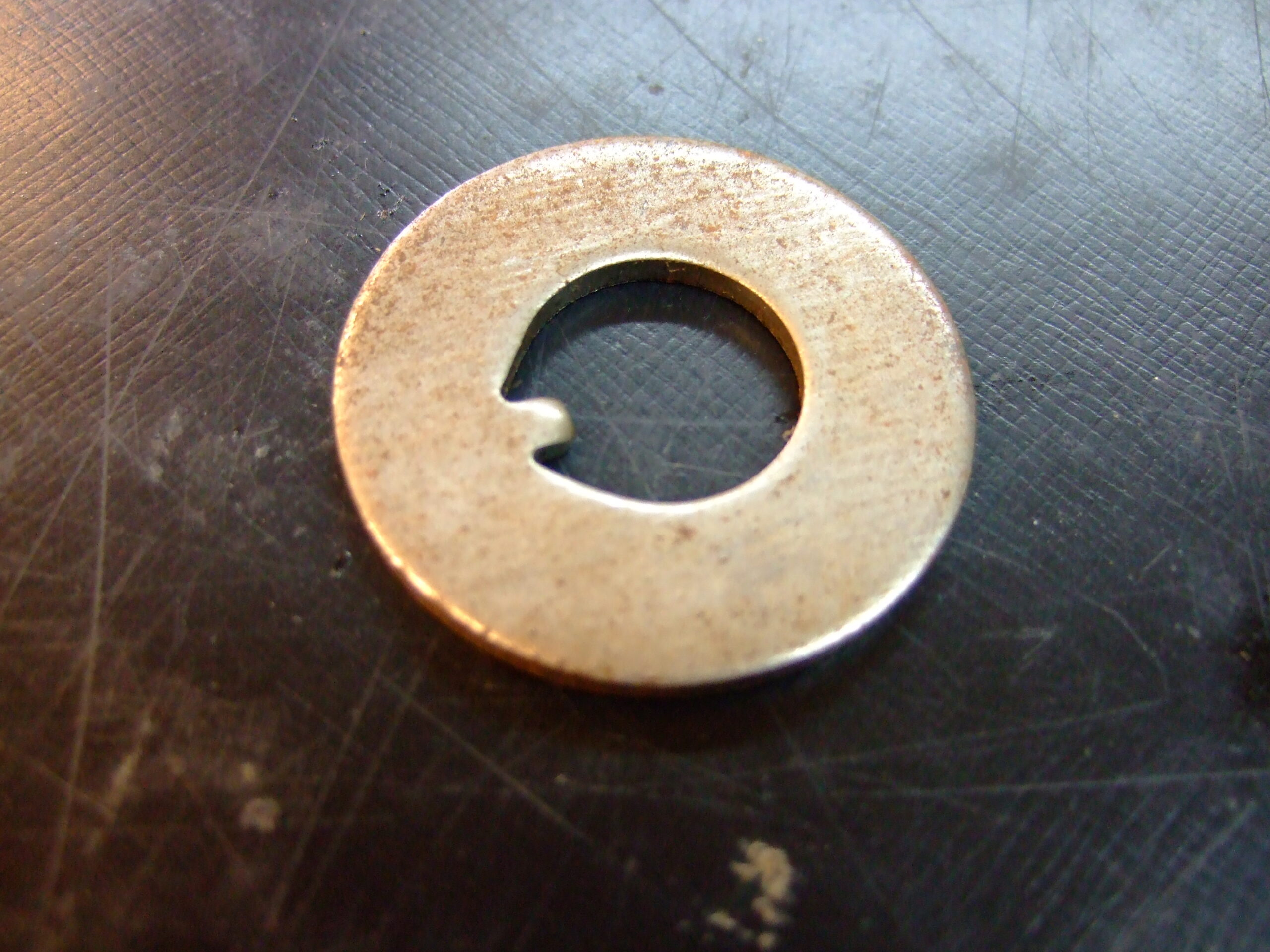 Front hub tab washer (each)