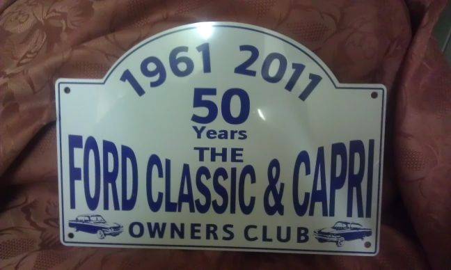 Plaque – 50th anniversary