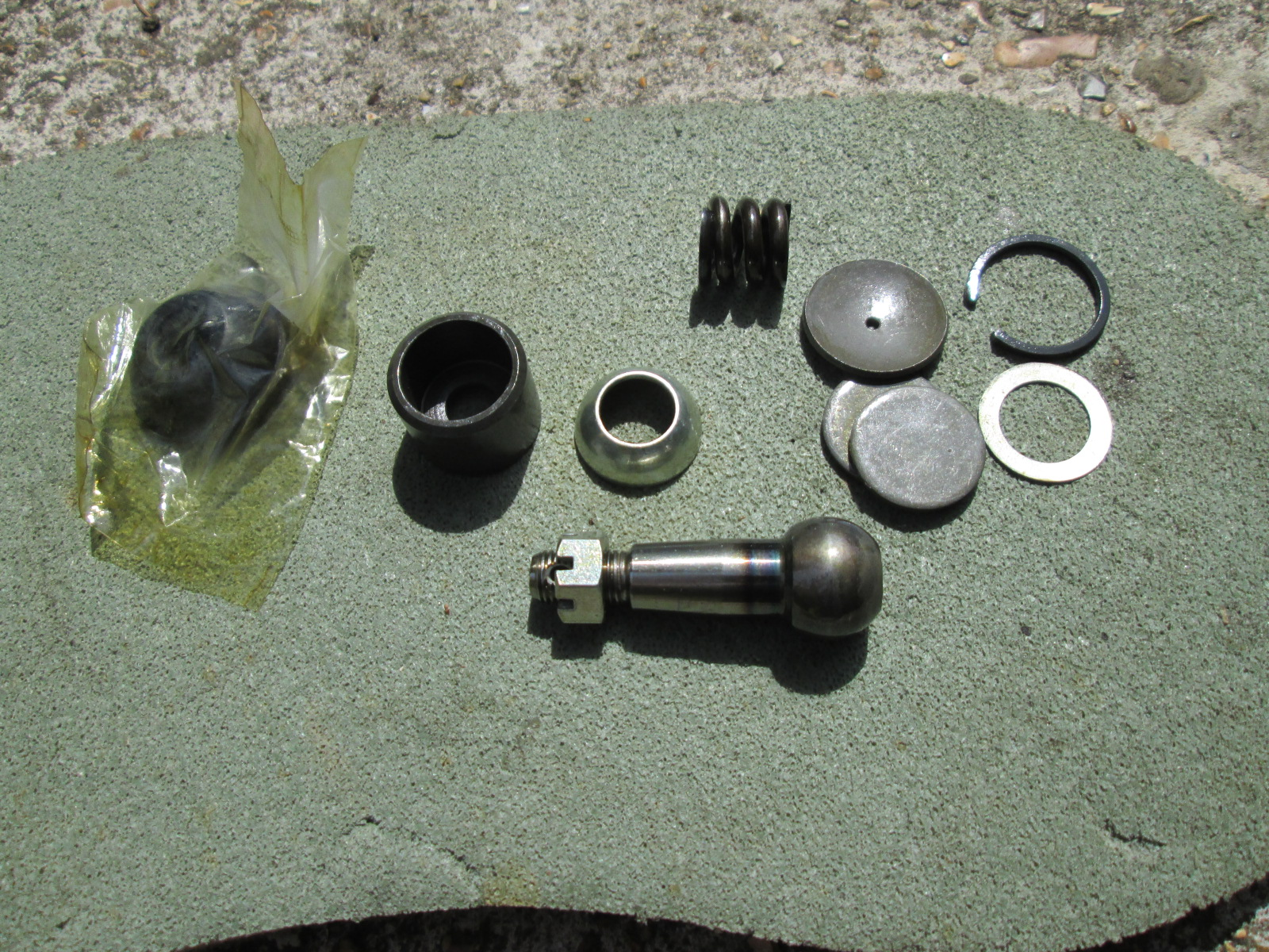 Track Control Arm kit with dust cover