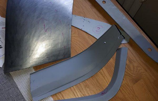 Front wing nose repair kit