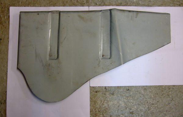 Door pillar to inner wing repair panel