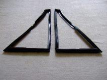 Classic 4-door front quarter-light seals (pair)
