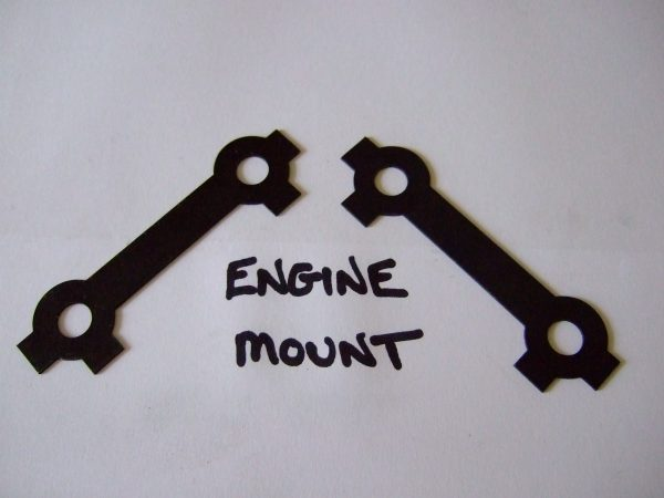 Engine mount tab washer
